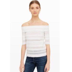 ✨NWT✨Club Monaco Partlan Off-Shoulder Sweater